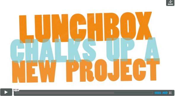 Lunchbox Chalkboard